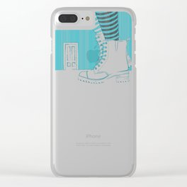 The problem Clear iPhone Case