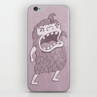 sasquatch iPhone & iPod Skins featuring Sasquatch by Damien Mason