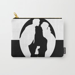Pushing Daisies silhouette kiss Carry-All Pouch