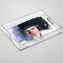 Malcolm McDowell Acrylic Tray