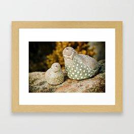 quails Framed Art Print