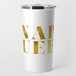 Nap Queen Gold Travel Mug