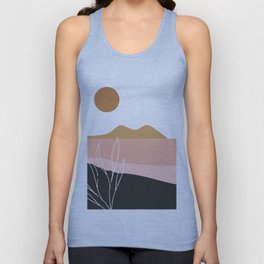 Abstract Landscape Unisex Tank Top