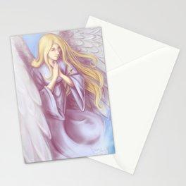 Lavender Angel Stationery Cards