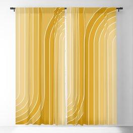 Gradient Curvature VII Blackout Curtain
