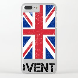 Coventry Graphic Clear iPhone Case