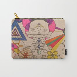 Fractal Entity Carry-All Pouch