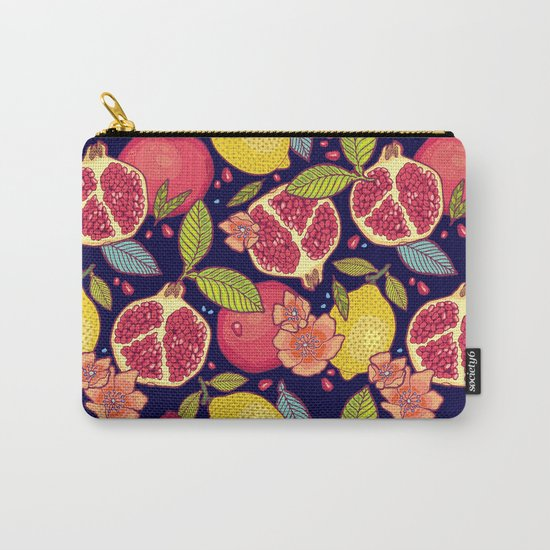 Mysterious tropical garden. Carry-All Pouch