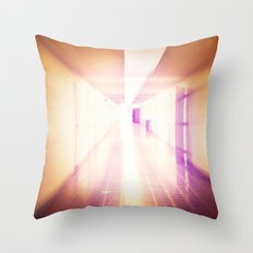 The Long Haul Throw Pillow