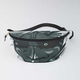 oni mask, japanese ogre color case Fanny Pack