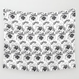 Wild Roses Wall Tapestry