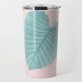 Love Leaves Evergreen Blush - Her #1 #decor #art #society6 Travel Mug