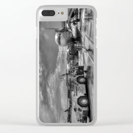 Pegasus Airlines Stanstead Airport Clear iPhone Case