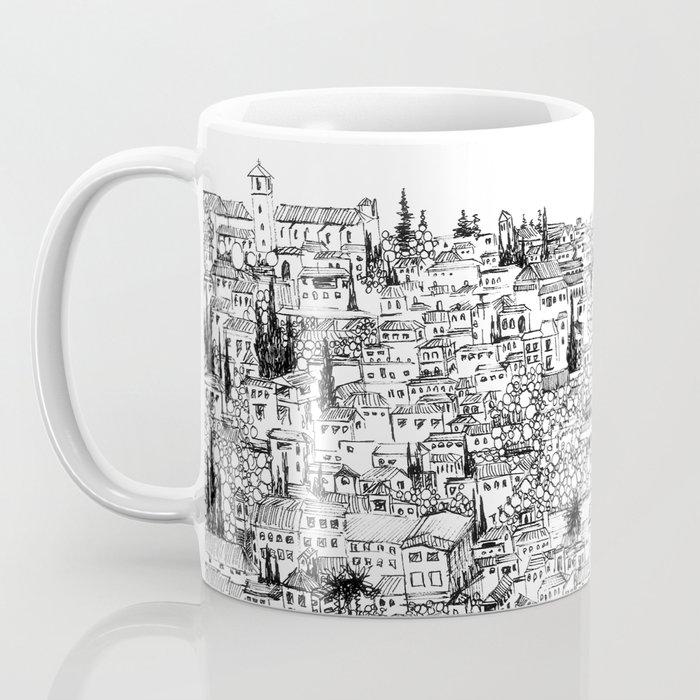 Albaicin View from the Alhambra, Granada, Spain Coffee Mug