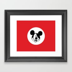Genosse Mouse Framed Art Print