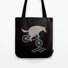 Wheelwolf Tote Bag