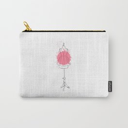 Pink dress #3 Carry-All Pouch