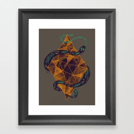 Mystic Crystal Framed Art Print