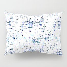 Purple on the pond Pillow Sham