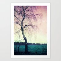 new year Art Prints featuring new year by Claudia Drossert