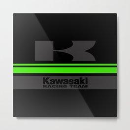 KAWASAKI Dark Metal Print