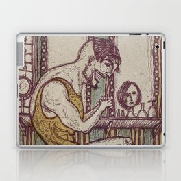 The Weightlifter Laptop & iPad Skin