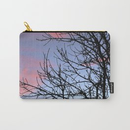 Skyscapes Pink Skies Silhouette Carry-All Pouch