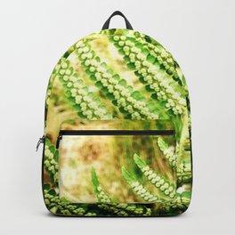 Green Fern Backpack