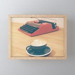 Emptiness  Framed Mini Art Print