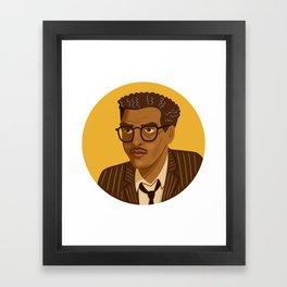 Bayard Rustin Framed Art Print