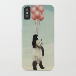 pandaloons iPhone Case