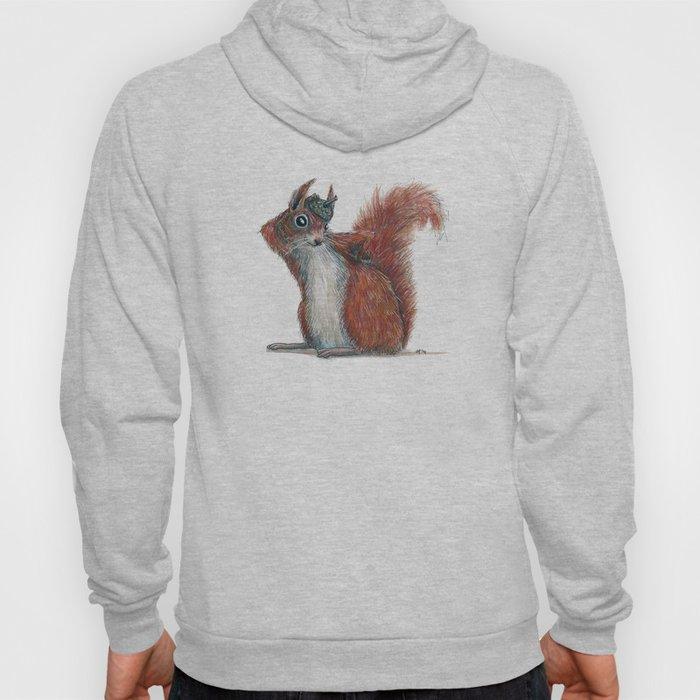 Squirrels' hat Hoody