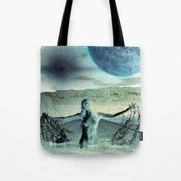 The Galaxy at the End of The Road Tote Bag