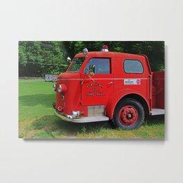 Put-in-Bay Volunteer Fire Dept II Metal Print