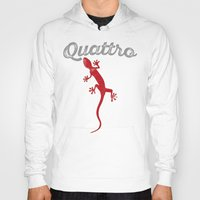 audi Hoodies featuring Quattro by Pisthead