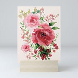 Watercolor Flowers Mini Art Print