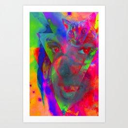 Voodoo Child-Lady Jasmine Art Print