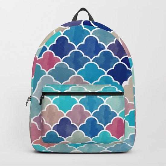 Watercolor Lovely Pattern VVXV Backpack