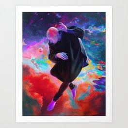 Singularité - Dorian Legret x Aeforia Art Print