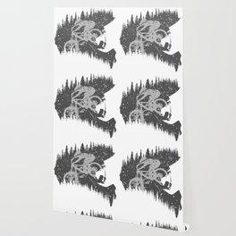 Black Fullface Wallpaper
