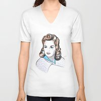 minnie V-neck T-shirts featuring Minnie by Christie  Elise