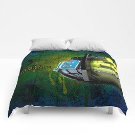 JA street art Comforters