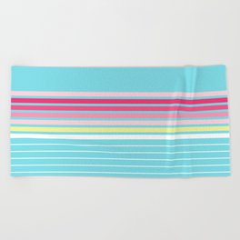 Vintage T-shirt No9 Beach Towel