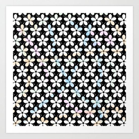 Pattern F 6 Art Print