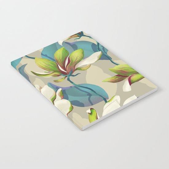 magnolia bloom - vivid version Notebook