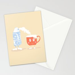 Milky Couple Stationery Cards