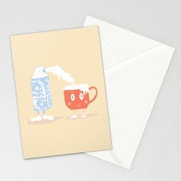 Milky Couple Stationery Cards