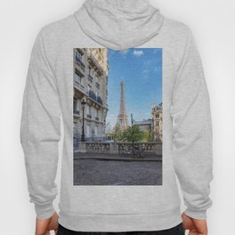 Paris, France: View of the Eiffel Tower Hoody