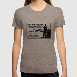 Royal Naval Canadian Volunteer Reserve T-shirt