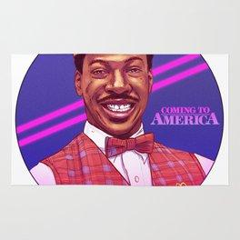 Coming to America by Tom Walker Rug